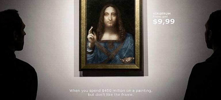 IKEA советует рамки для самой дорогой картины мира