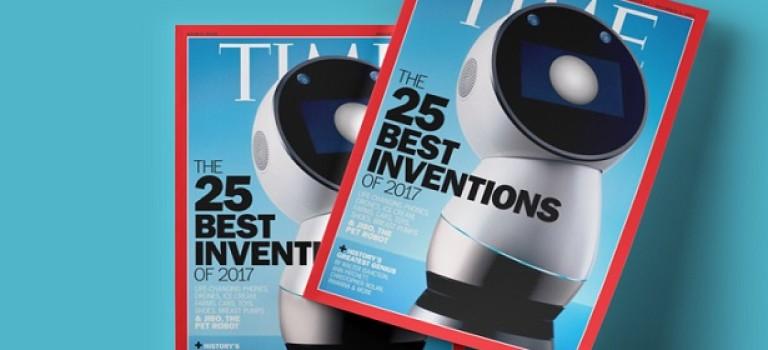 Украинский робот попал на обложку TIME