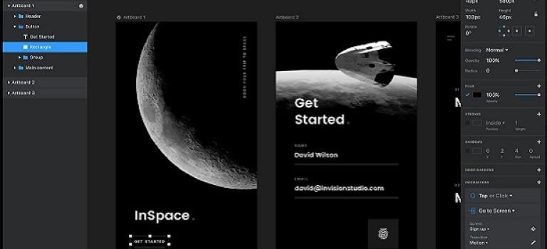 InVision Studio — бесплатная замена Adobe и Sketch