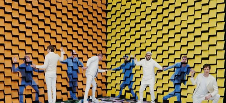 Очередной шедевр визуализации от OK Go