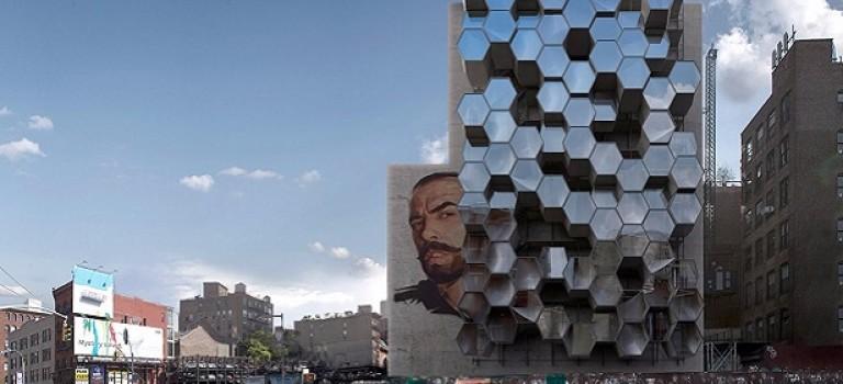 Шестиугольные квартиры для бездомных: социальный проект в Нью-Йорке