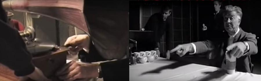 Фрагменты фильма «Линч» о съёмках «Внутренней империи»