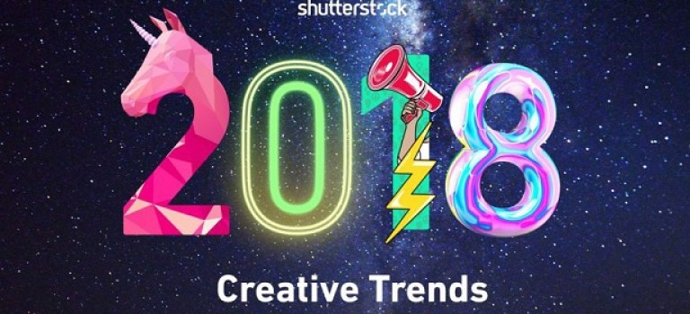 Shutterstock представил свой топ креативных трендов на 2018 год