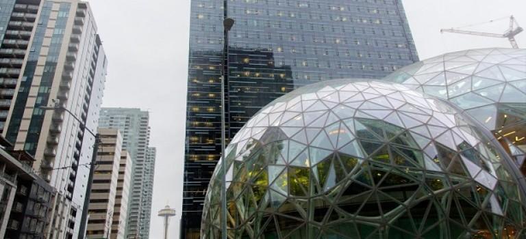 Amazon откроет новый офис. Выглядит круто
