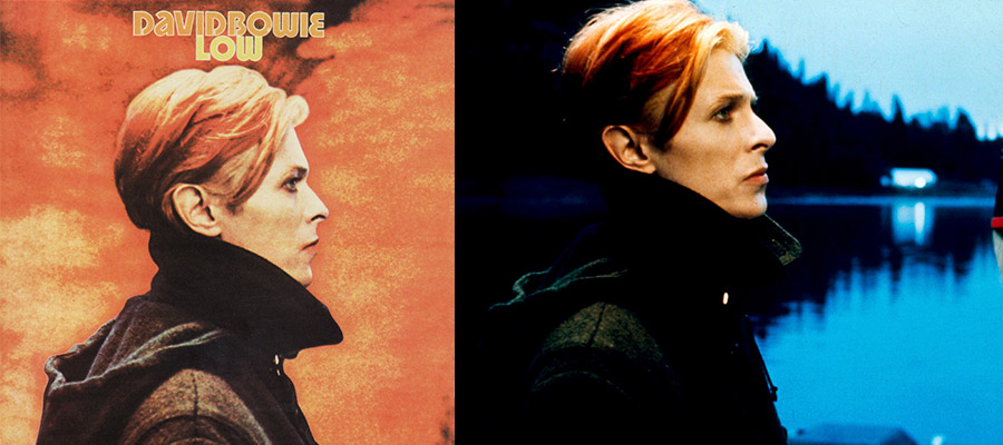 Обложка альбома Боуи Low сделана на основе кадра из фильма