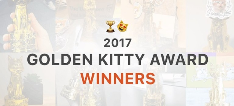 Golden Kitty Awards 2017: в победителях 3 представителя Украины, Telegram и другие проекты