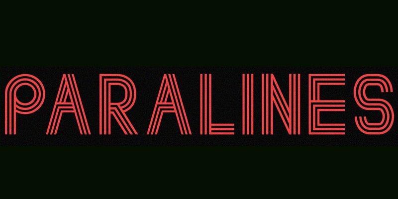 Paralines-Font