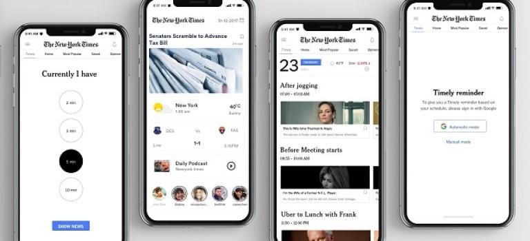 UI/UX кейс: новое приложение для The New York Times