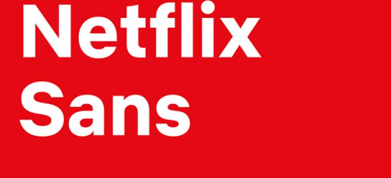 Netflix представил собственный шрифт