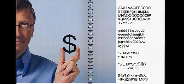 Дизайнер превращает знаменитостей в шрифты