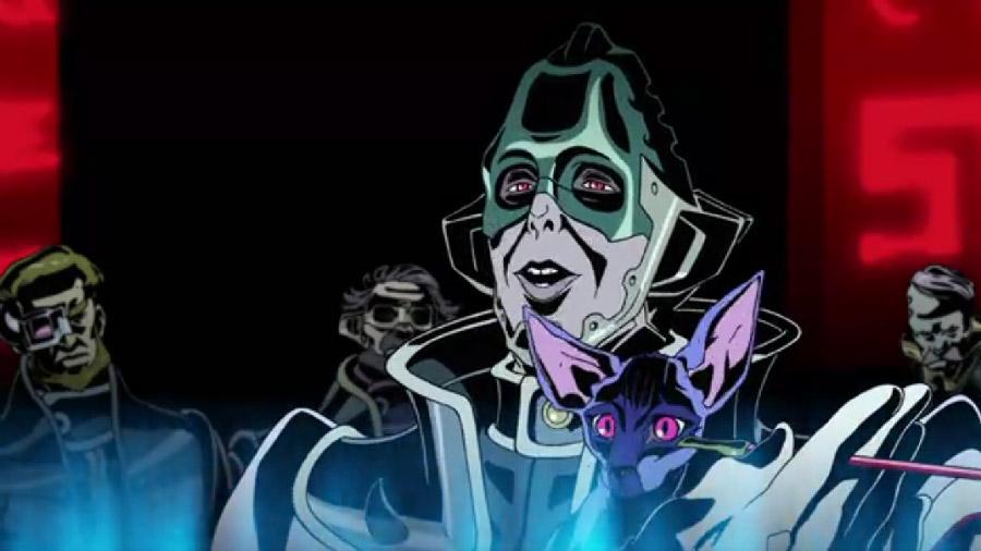 У секретаря самого опасного правительства Галактики есть розовый лысый кот