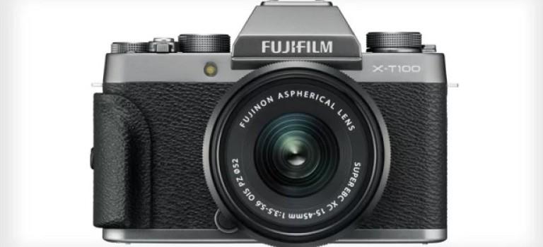 Fujifilm анонсировала X-T100