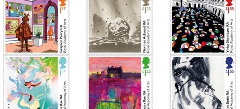 Королевская Почта Великобритании выпустила новые марки