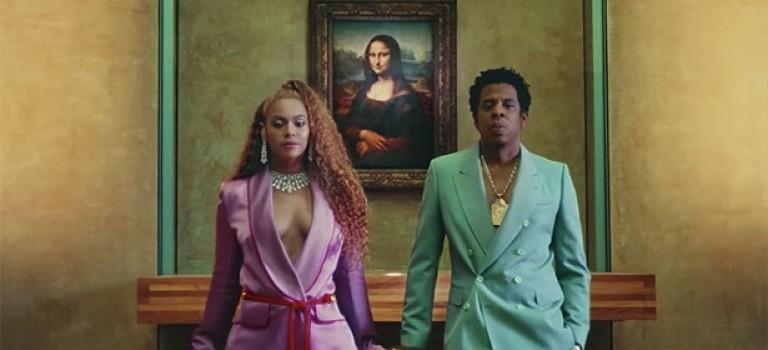 Beyoncé и Jay Z сняли клип в пустом Лувре