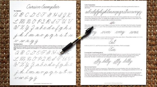 how-to-write-cursive
