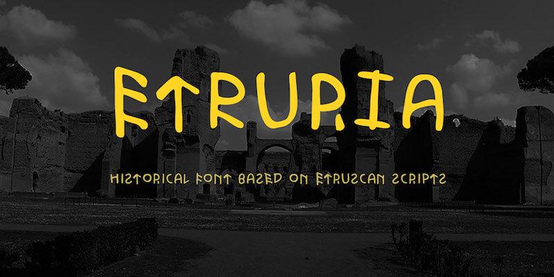 Etruria typeface