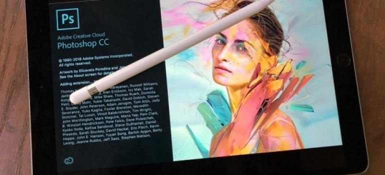 В октябре Adobe представит полноценную версию Photoshop для iPad