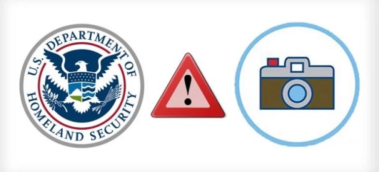 Национальная безопасность США назвала фотографию «признаком терроризма»
