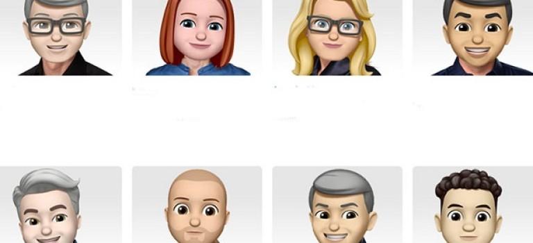 В честь Всемирного Дня Эмоджи Apple выпустила мемоджи с сотрудниками