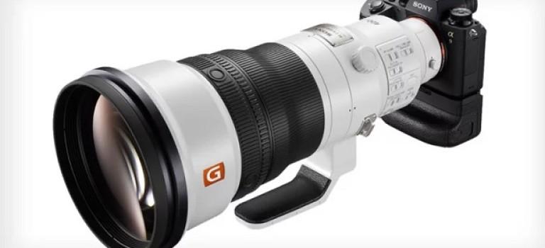 Sony представила новый длиннофокусный объектив