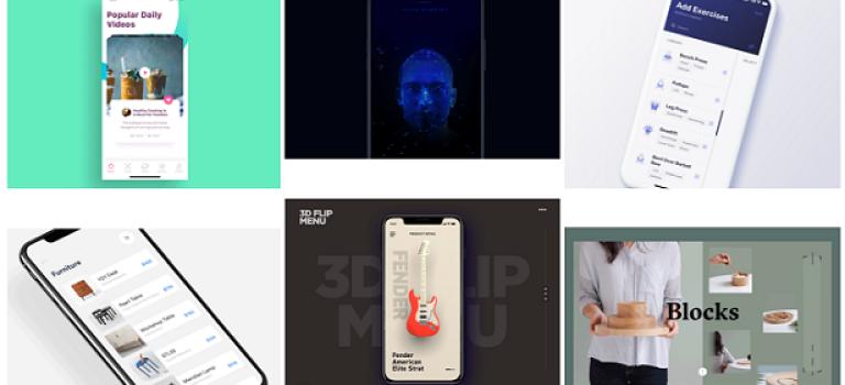 Подборка крутого UI контента за прошедшую неделю #22