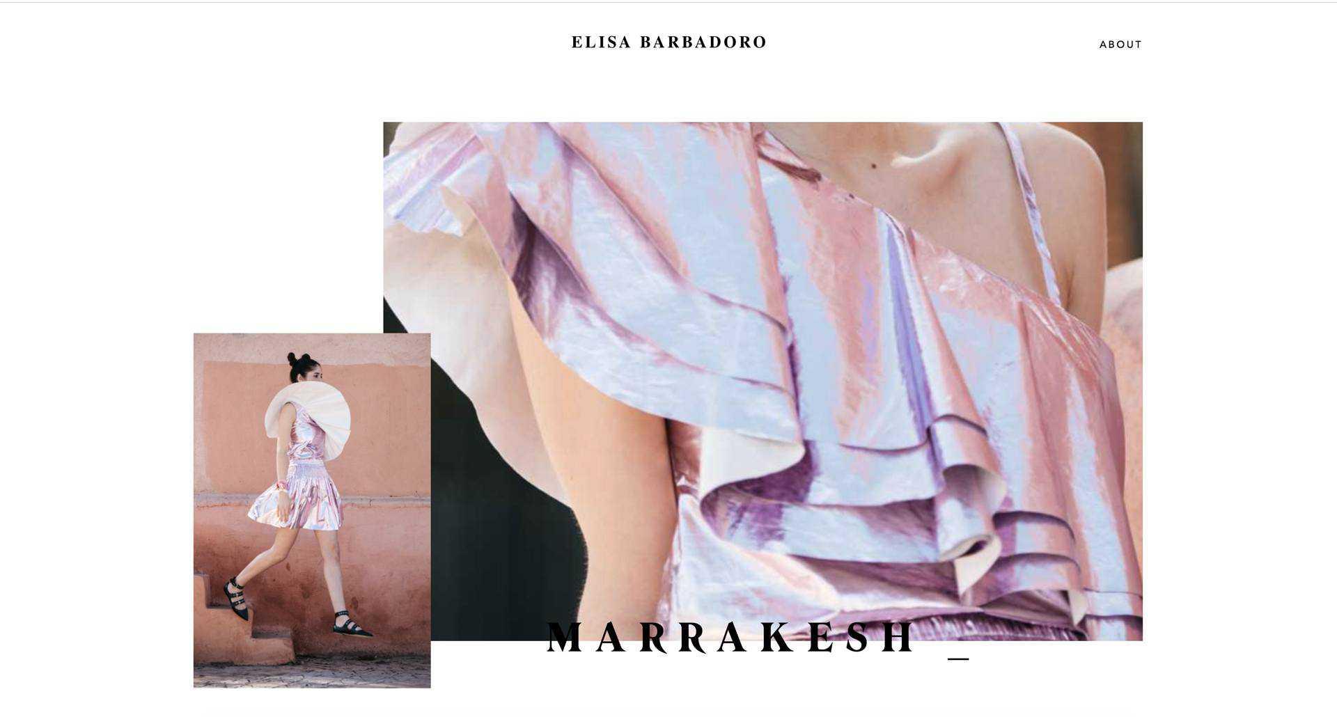 Проект для Elisa Barbadoro