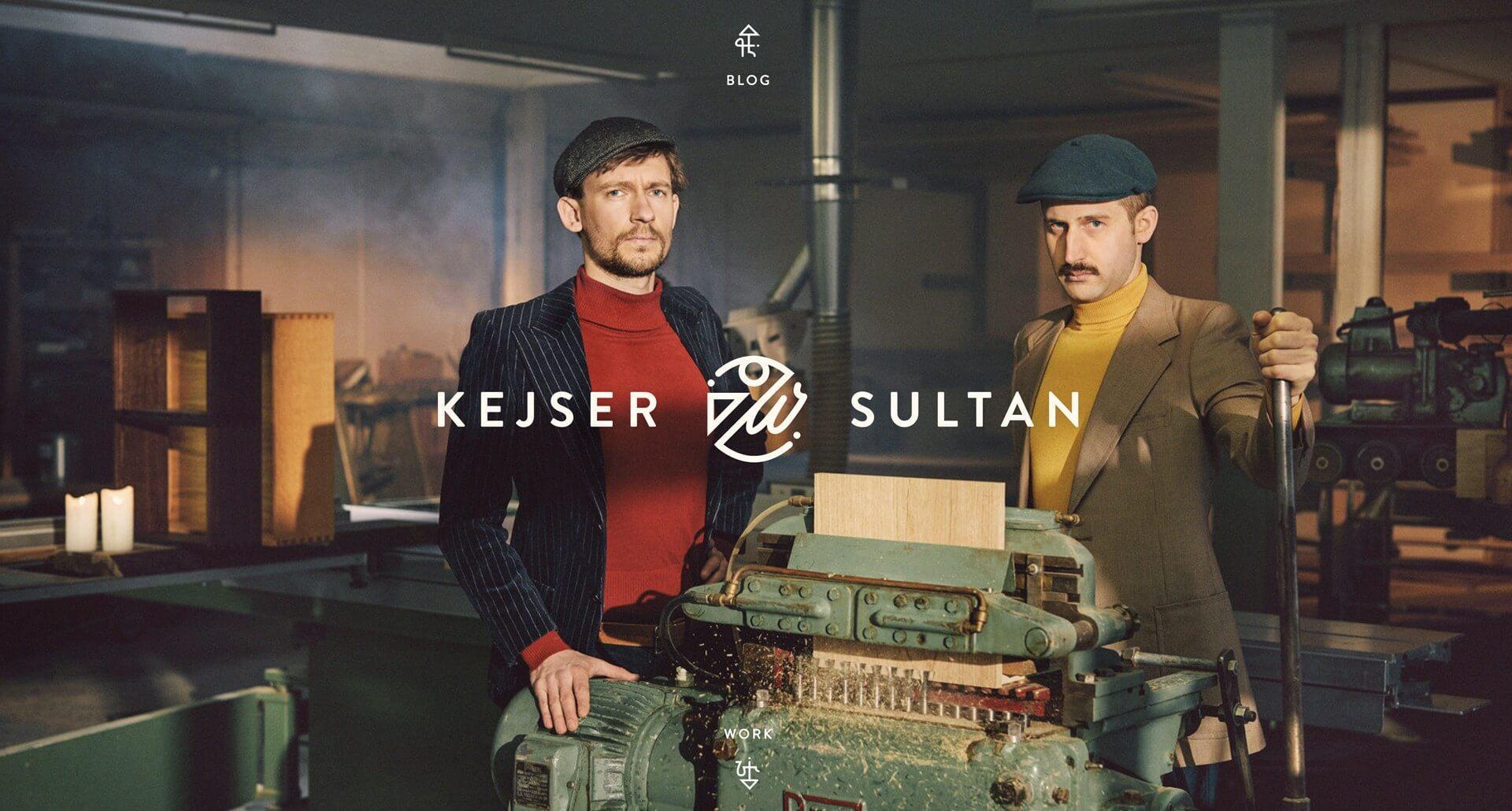Проект для Kejser & Sultan