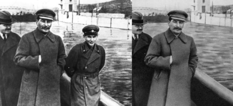 Советский «фотошоп», или fake news по-нашему