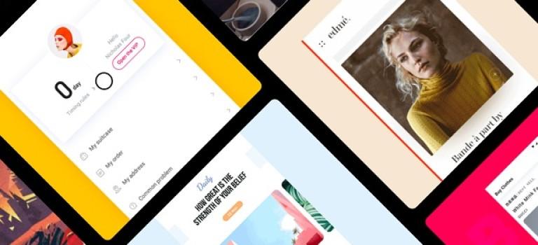 Подборка крутого UI контента за прошедшую неделю #28
