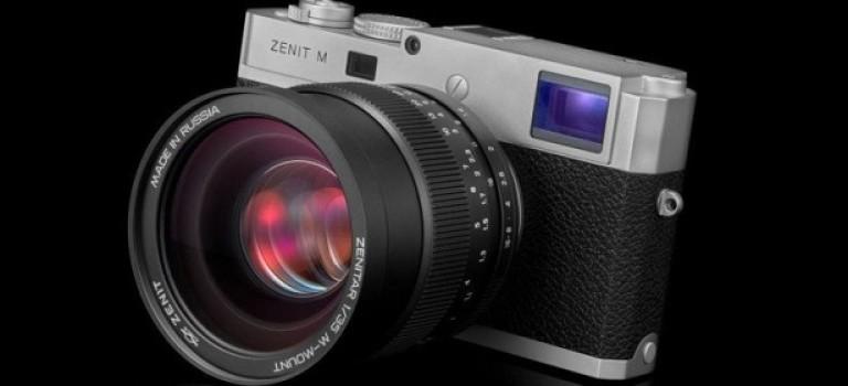 «Зенит» и Leica представили полнокадровую камеру