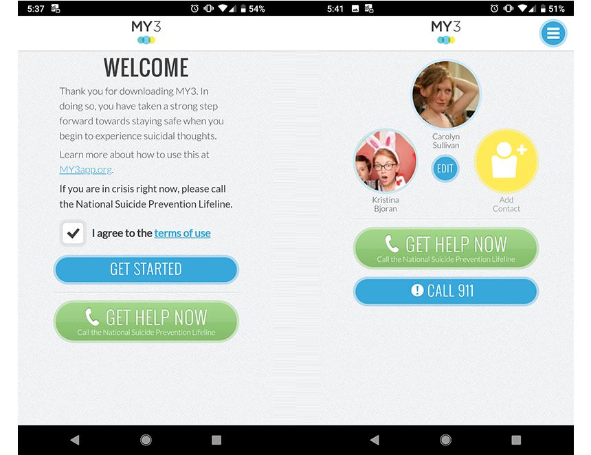 Приложение MY3 дает возможность поговорить с настоящими людьми.